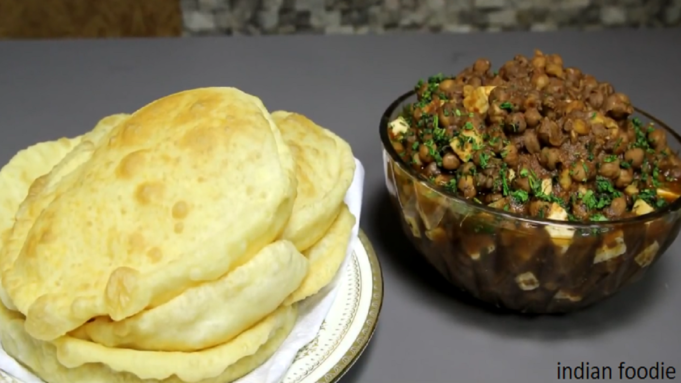 Chole Bhature Recipe, How To Make Chole Bhature, Near Me in Delhi