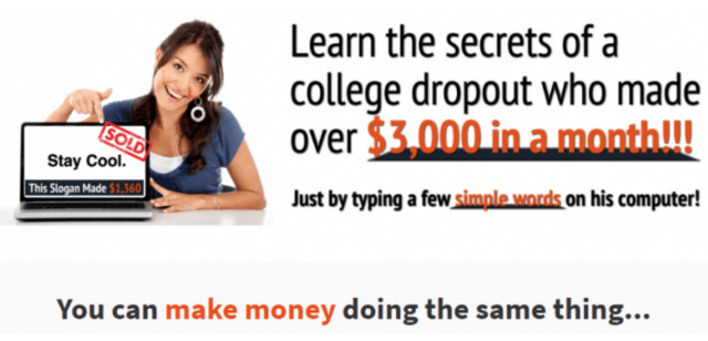 Slogan Seller Review- Get Paid To Write Slogans Online