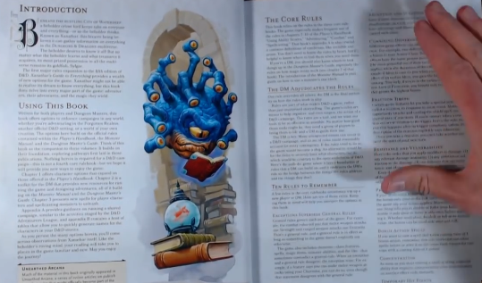 PHOTO OF TEN RULES TO REMEMBER IN XANATHAR GUIDE TO EVERYTHING