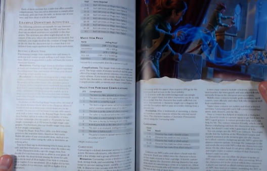PHOTO OF GAME CHANGER RUNNING A CAMPAIGN IN XANATHAR 5e