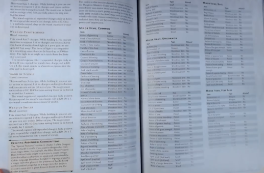 PHOTO OF WAND OF SCOWLS IN XANATHAR'S GUIDE TO EVERYTHING