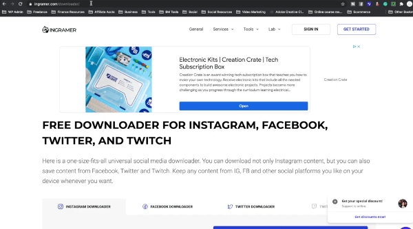 HOW TO SAVE INSTAGRAM VIDEOS ON COMPUTER: PHOTO OF INSTAGAMER DOWNLOAD INSTAGRAM VIDEOS ON COMPUTER